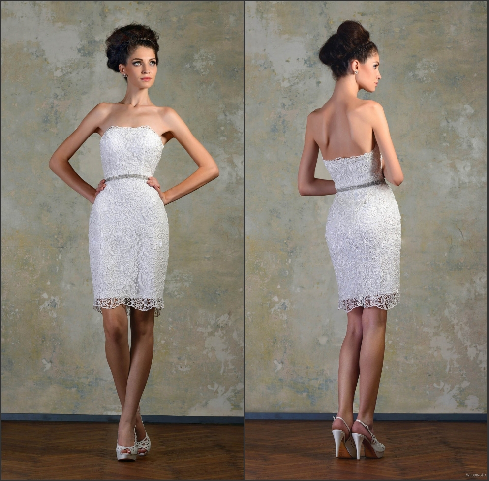 White Fitted Knee Length Dress  fashion dresses