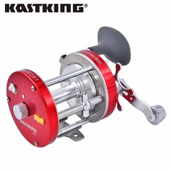 KastKing Rover Round Reel Bait Casting Reinforced Metal Body Fishing Reels Lure Tackle Trolling Freshwater/Saltwater Round Wheel