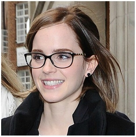 f3a7003d3 Nova Emma Watson estilo moderno de óculos mulheres Optical óculos quadro  homens óculos de Nerd óculos