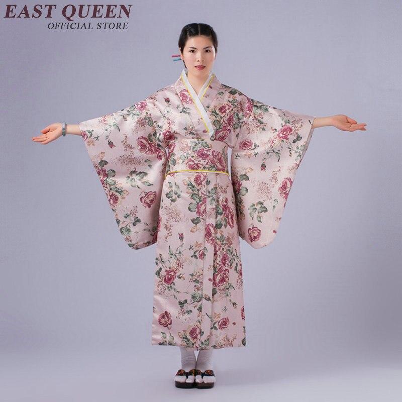 Traditionele Japanse Kimono Vrouwen Vrouwelijke Japanse Kimono Traditionele Jurk Yukata Kk2361 Koop Nu