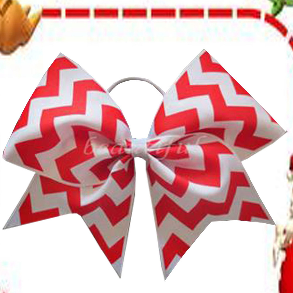 20 BLESSING Good Girl Hair Accessories 7 Cheer Leader Bow Elastic 83 No.