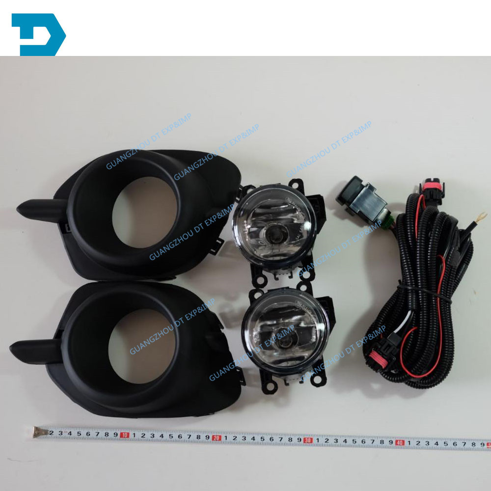 new DARKER CHALLENGER FOG LAMP PAJERO SPORT FOG LAMP cover and wire and switch 2011-2017 fifty shades darker