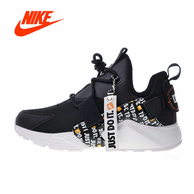 Nike Just do it Original New Arrival Authentic Nike Air Huarache City Low Prm Women's  Running Shoes Sport Outdoor Sneakers