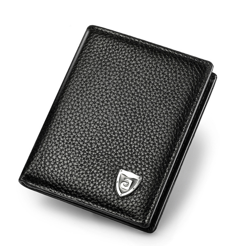 Luxury Brand Credit Card Holdersmar Men Stylish Business Leather Wallet Holder Coin Purse Famous
