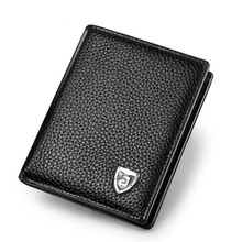 Luxury Brand Credit Card Holdersmar Men Stylish Business Leather Wallet Card Holder Coin Wallet Purse Luxury Men Wallet Famous