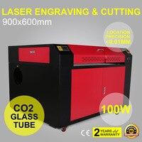 100 w C02 USB Laser Cutter/Graveur Machine Lijst Platform 1000 mm/s 900*600mm-in Hout Router van Gereedschap op