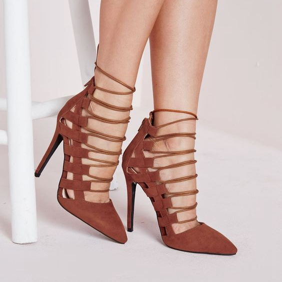 Brown Stiletto Heels Promotion-Shop for Promotional Brown Stiletto ...
