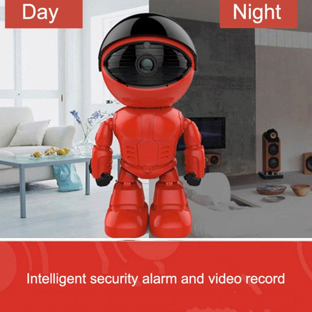 Baby Monitors 1080p Hd Network Camera Two-way Audio Wireless Network Camera Night Vision Motion Detection Camera Robot Pet Baby Monitor Drip-Dry