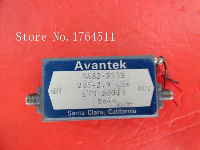 [BELLA] AVANTEK SA82-2553 2.5-2.9GHz 15V SMA Low Noise Amplifier