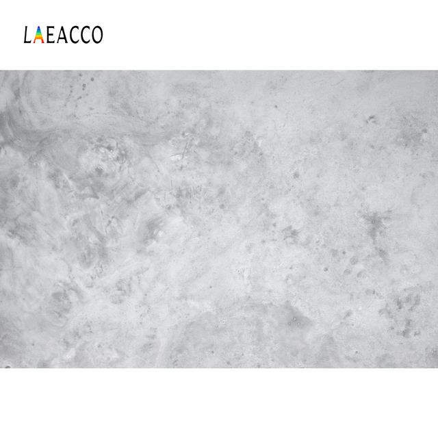 Laeacco Gray Cement Wall Gradient Solid Color Surface Texture Food Portrait Photo Backgrounds Photographic Backdrop Photo Studio