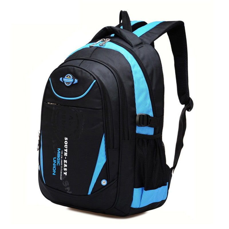 School-Bags Children Backpack Girls Boys for High-Quality in Mochila Infantil Zip