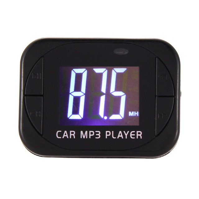 2016 Brand New MP3 Player Wireless FM Transmitter Modulator Car Kit USB SD MMC LCD Free Shipping&Wholesale