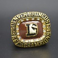 Gold Sport Gold Ring AFC 1987 Denver Broncos America Replica Championship Ring custom Big Size 11 ring Sport Jewelry