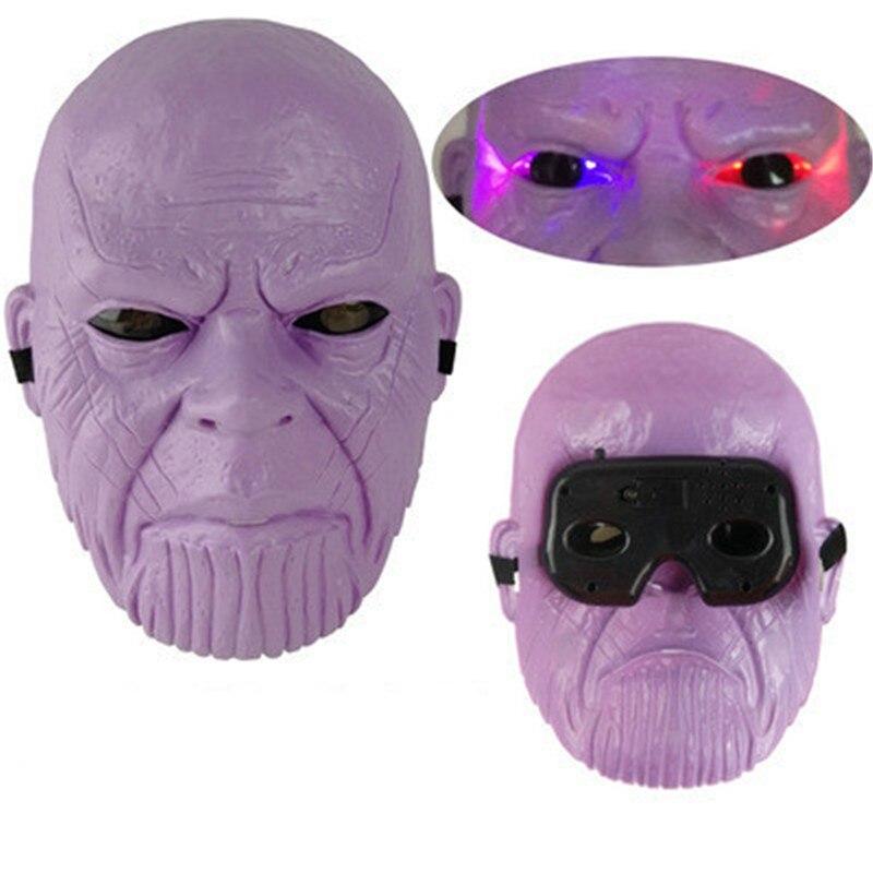 Marvel Мстители 3 Возраст Альтрона Халка черная Widow Vision Ultron Железный человек Капитан Америка Фигурки Модель игрушки - Цвет: light Thanos