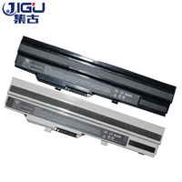 JIGU Laptop Battery BTY S11 BTY S12 For Msi X100 X100 G X100 L Akoya Mini E1210 Wind U100 U90 Wind12 U200 U210 U230 White 9Cells
