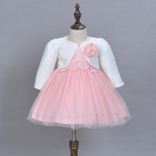 2016 Formal Elegant Baby Dress For 1 2 Year Old Birthday Girls Party Vestidos