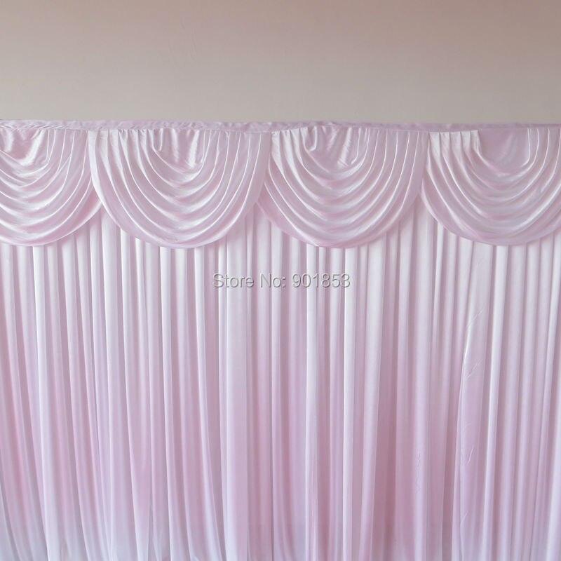 3 м* 9 м индивидуальные красочные блестящие Ice Шелковый свадьба фон события Шторы Подзор фон