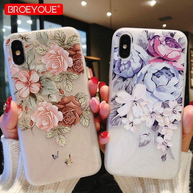 Case For Samsung Galaxy A5 2017 Case J7 J5 2017 6 A3 A7 A5 S7 Edge S8 S9 Plus Case For Xiaomi Redmi 4X 4A Note 4X Flowers Cover