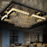 Moderno led luzes de teto cristal k9 luminárias iluminação para casa sala estar lâmpadas teto quarto iluminação teto|ceiling lamp|led crystal|led crystal light -