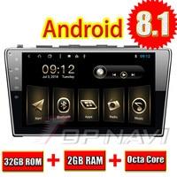 Topnavi 10,1 Car gps Octa Core Android 8,1 для Honda CRV 2007 2008 2009 2010 2011 авто стерео Мультимедиа навигация с 3g BT