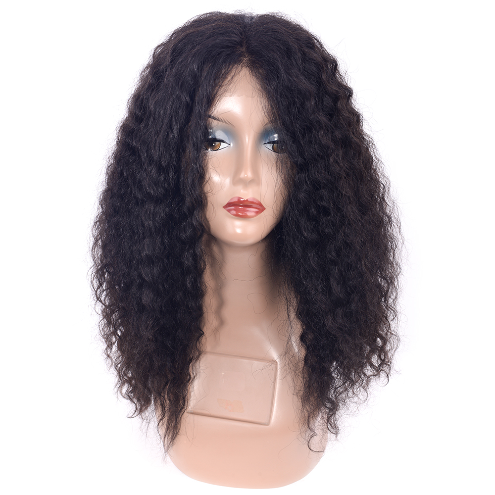 CHOCOLATE Remy Human Hair Wet and Wavy Lace Front Human Hair Wig 190% Density Bleached Knots