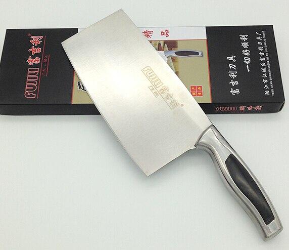 11 11 Special Offer Shibazi Stainless Steel Dual purpose Kitchen Chop Bone font b Knife b