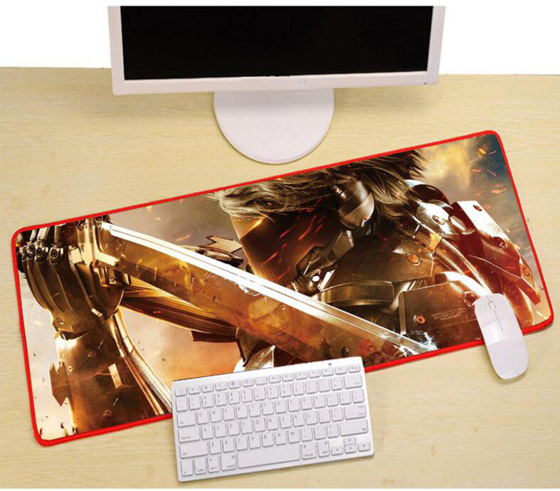 800x300x3mm gaming muismat DIY lock rand computer mousepad laptop - Computerrandapparatuur - Foto 5