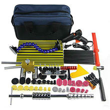 PDR Paintless Dent Repair Tool Kit Дент lifter Клей пистолет Линии совет Презентация молот Дент Съемник Клей Вкладки Присоски PDR Инструмент набор