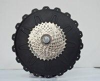 Высокое качество e велосипед говорил двигателя 48 В 500 Вт бесщеточный дисковый тормоз и кассеты для заднего колеса e велосипед / электрический