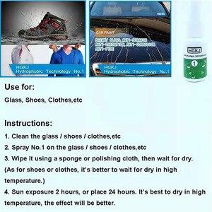 Нано гидрофобное покрытие жидкое стекло водонепроницаемый спрей непромокаемые для стекла ткань обувь агент HGKJ 1