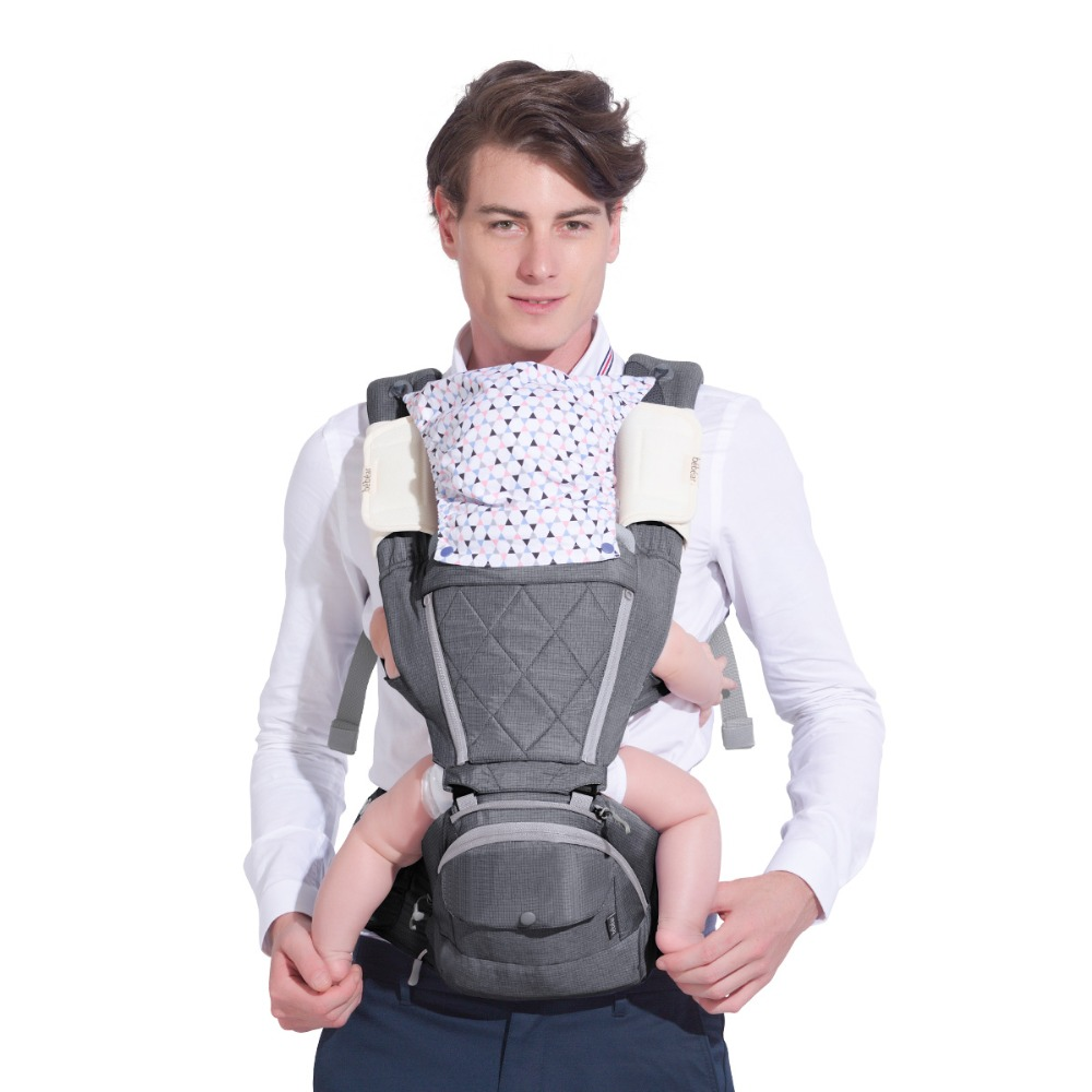 0 36 Months Ergonomic Infant Carrier Classical Expression Manduca Multifunctional Toddler Hipseat Babies Sling Backpack for