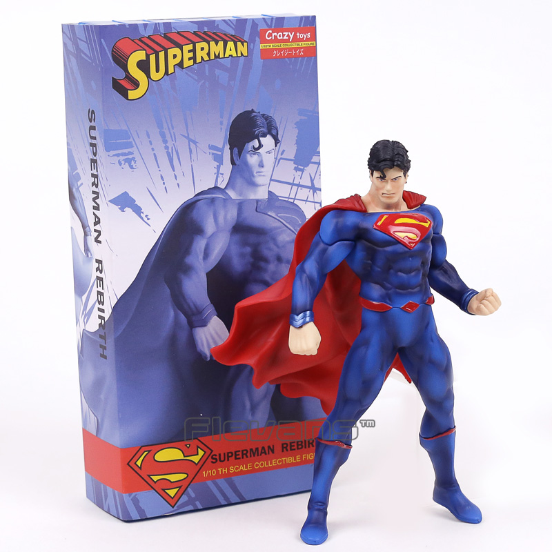Pvc 110 Figura Juguetes Renacimiento We9d2iyh Superman Escala Locos SUVpzMGq