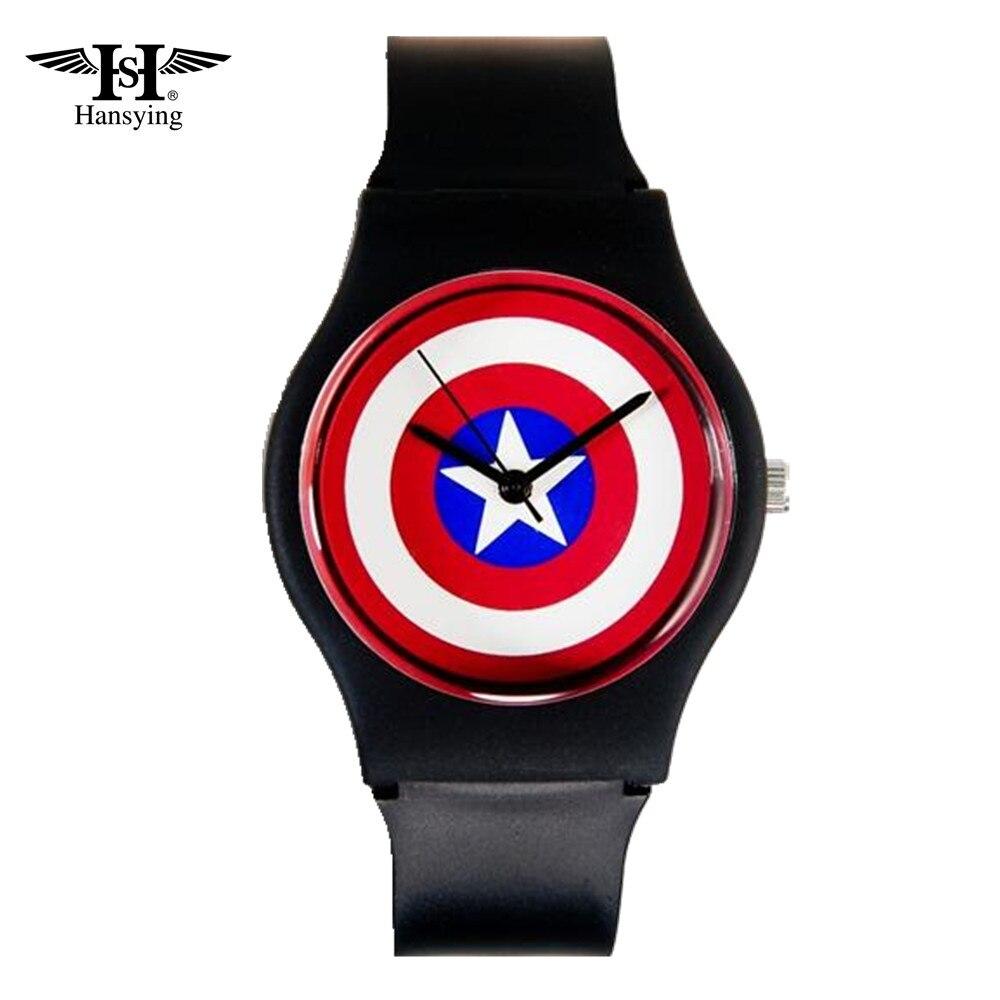 הנסינג קפטן אמריקה עיצוב אופנה נשים - שעונים לילדים