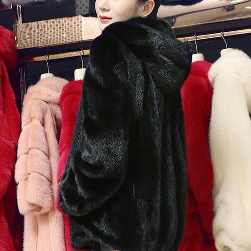 2019 Veste Dames Luxe Plus Long Femmes Manteaux Winterjas Dc41 gz4ppU