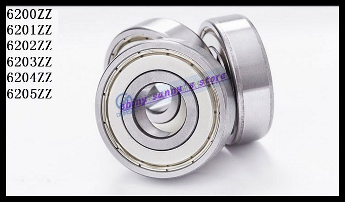 4pcs/Lot 6203ZZ 6203 ZZ 17x40x12mm Mini Ball Bearing Miniature Bearing Deep Groove Ball Bearing Brand New