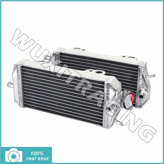 Pair MX Offroad Radiators Cooling High Quality L/R New Aluminium Cores For GAS GAS EC MC 200 250 300 2007 2008 2009 2010 2011