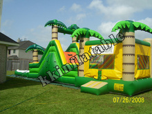 coconut tree inflatable bouncer, inflatable bouncer for party/ school