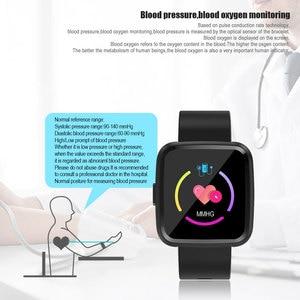 Image 3 - VERYFiTEK Y7 Smart watch Blood Pressure Heart Rate Monitor Fitness Tracker Waterproof Women Men Clock Smartwatch For Android IOS