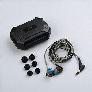 Image 5 - אוזניות באוזן אוזניות HiFi אוזן טלפון מתכתי אוזניות סטריאו באוזן אוזניות QKZ X10 אבץ סגסוגת רעש מבטל אוזניות DJ