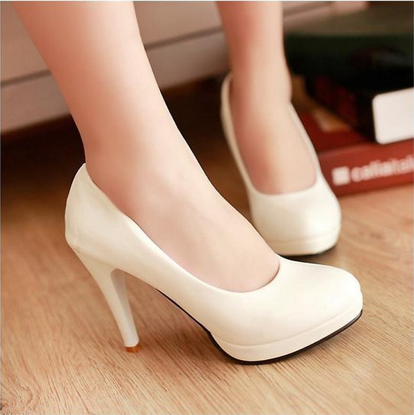 Santos Feminine8 5 Cm Height Basic High Heels New 2014nd Women Platforms Pumps Casual Shoes In Womens Pumps From Shoes On Aliexpress Com Alibaba