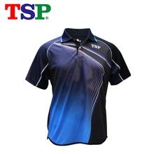 2018 TSP tenis stołowy koszulki Japan koszulki dla mężczyzn kobiet Badminton ping pong tkanina Sportswear szkolenia koszulki tanie tanio Unisex Pasuje do rozmiaru Weź swój normalny rozmiar 83109 Short Sleeved Suit Mężczyzna Sprężyna 2018