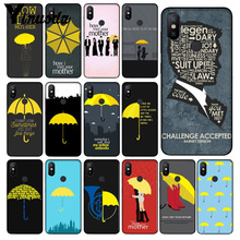 Yinuoda how i met your mother himym quotes Luxury Unique Design Phone Cover for Xiaomi Mi 8 8 SE 6 Note 3 MIX 2 2S Note 3 Cover how i met myself level 3 page 5