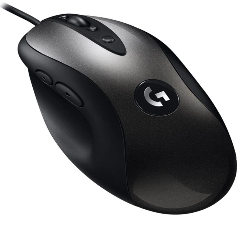 Logitech MX518 Wired Gaming Mouse 16000DPI 8 Programmable Buttons Games Mice For PC Gamer