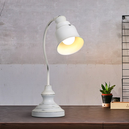 Nordic Distressed White Bedside Table Lamp Retro Study Living Room Coffee Shop Bedroom Hotel Decro Table Lights Free Shipping odd ranks yield retro furniture living room coffee table corner a few color seattle bedroom nightstand h