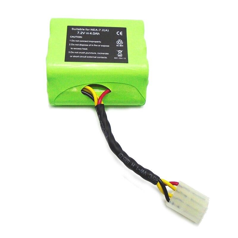 2x7.2 V Batterie Pour Neato XV-11 XV-12 XV-14 XV-15 XV-21 Signature Pro Robotique Vert