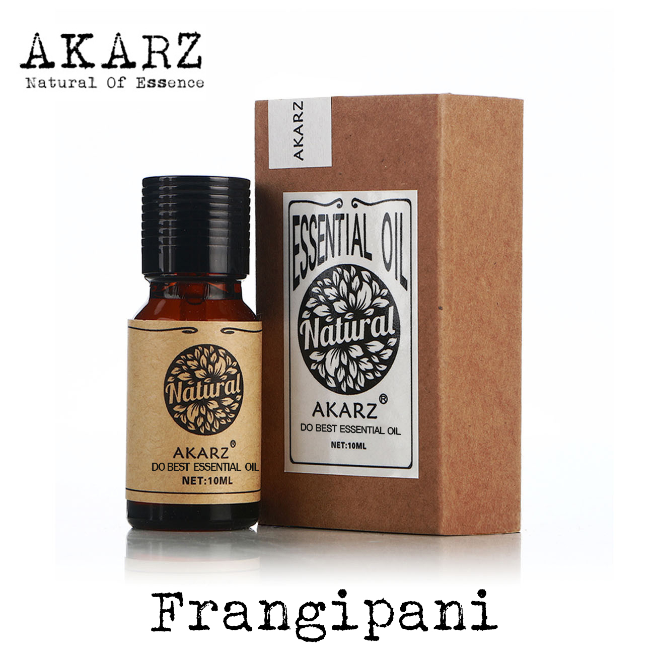 Frangipani essential oil AKARZ Top Brand body face skin care spa message fragrance lamp Aromatherapy Frangipani oil
