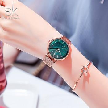 New Minimalist Women Watches Ladies Quartz Top Brand Fashion Watch Stainless Steel Strap Women's Quartz Clock relojes mujer цена 2017
