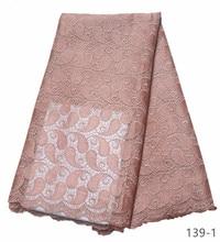 2019 последние французские нигерийские кружевные ткани высокого качества Тюль кружевная ткань в африканском стиле Свадебные африканские французский Тюль Кружева 139