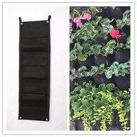 7 Pocket NEW Felt 1PC Outdoor Vertical Gardening Flower Pots And Planter Hanging Pots Planter On