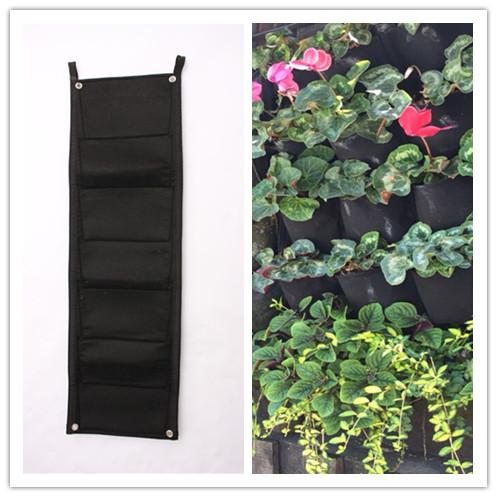 pocket nueva fieltro unid vertical exterior macetas y jardineras macetas colgantes de jardinera
